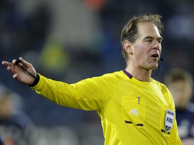 Cyril Zimmermann, der Elite Referee Manager des Schweizerischen Fussballverbands.