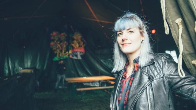 Tina Nägeli und das böse Zelt am Heitere.