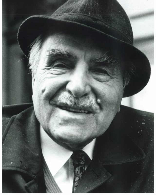 Ernst Mörgeli in späteren Jahren