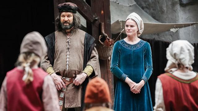 Die Frau Werner Stauffachers (Michael Neuenschwander), Hanna Stauffacher, wird von Sandra Utzinger gespielt.