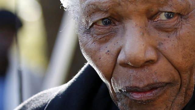 Porträt Mandela.