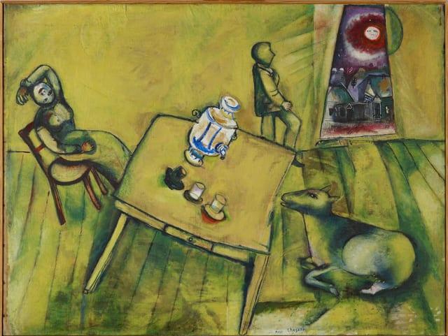 Bild «Das gelbe Zimmer» von Marc Chagall