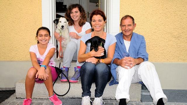 Familie Valari: Abschied von Griechenland