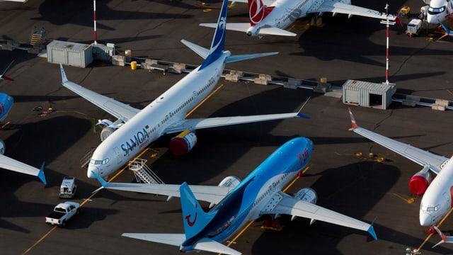 Die Boeing 737 Max ist die Neuauflage des seit den 1960er Jahren gebauten Mittelstreckenjets 737.