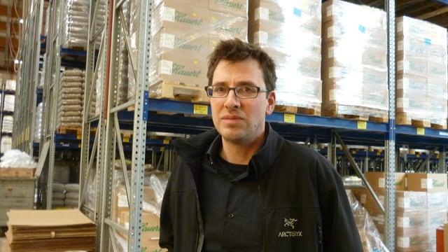 Philipp Hauert, Patron in 12. Generation des Düngerherstellers Hauert in Grossaffoltern BE