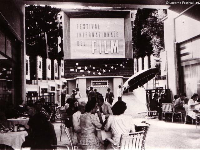 Entrada dal festival dal film da Locarno il 1946.