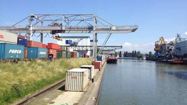 Rheinhafen Kleinhüningen