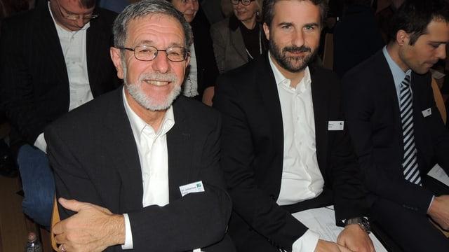 Johannes Flury e Marco Erni