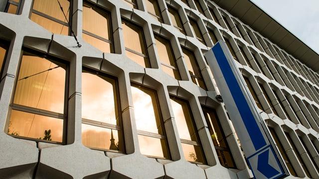 Das Hauptgebäude der Luzerner Kantonalbank.