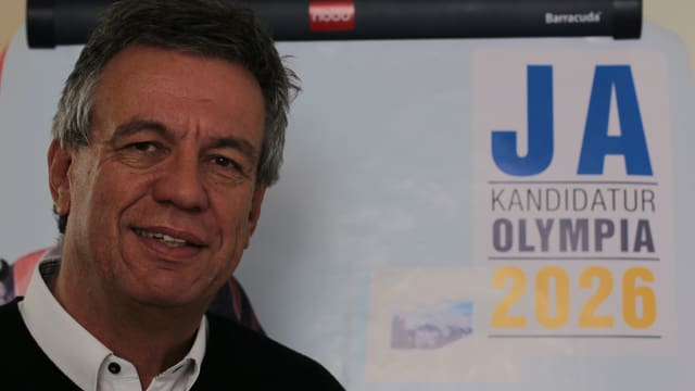 Jürg Michel è persvas da la candidatura actuala pro.