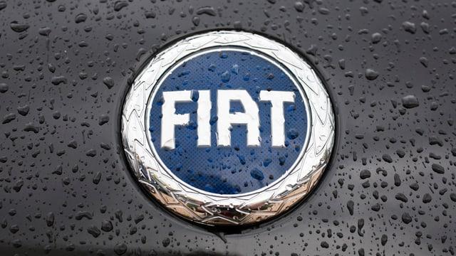 il logo dal concern d'autos Fiat