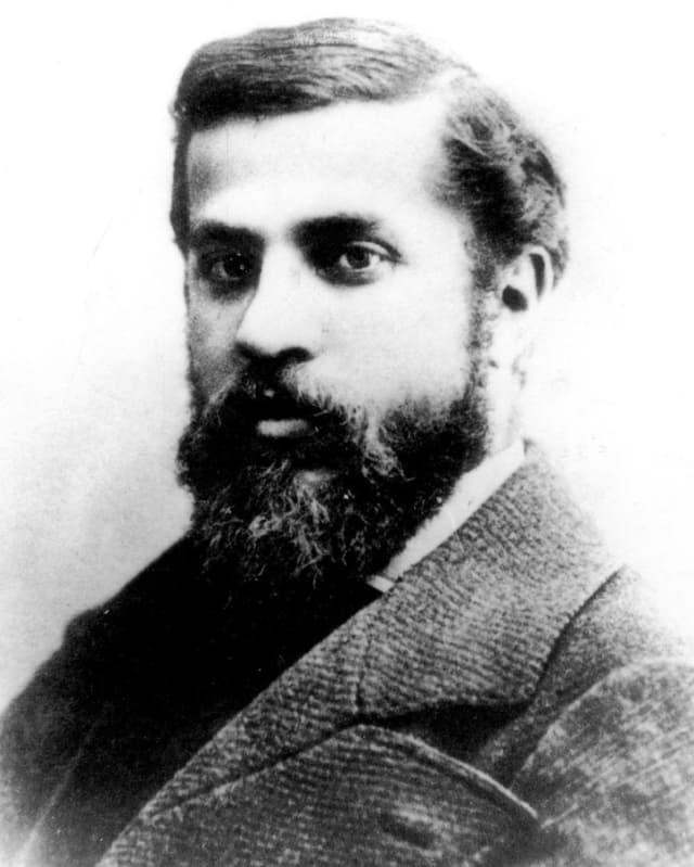 Antoni Gaudi im März 1878.