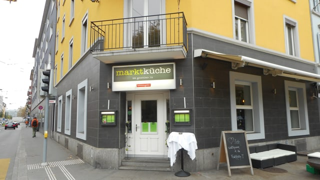 Video «Restaurant Marktküche in Zürich» abspielen