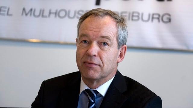 Flughafendirektor Jürg Rämi.