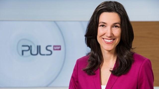«Puls»-Moderatorin Odette Frey.