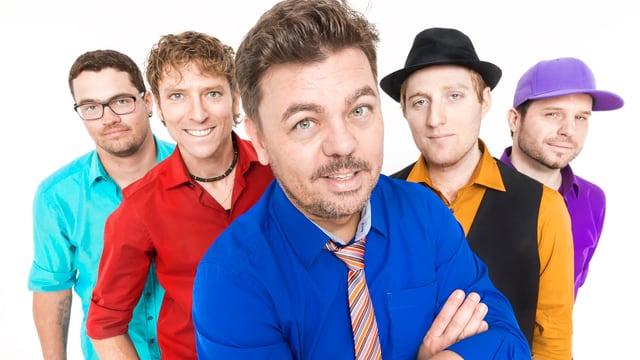 Band Mash mit Frontmann Padi Bernhard im Vordergrund