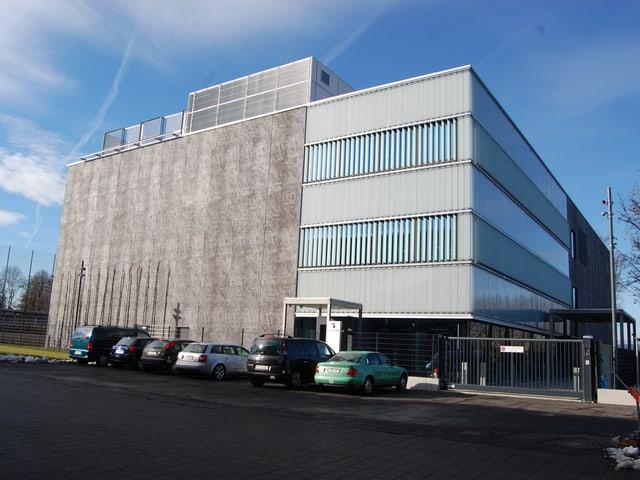 Das neue Swisscom-Rechenzentrum in Bern-Wankdorf.