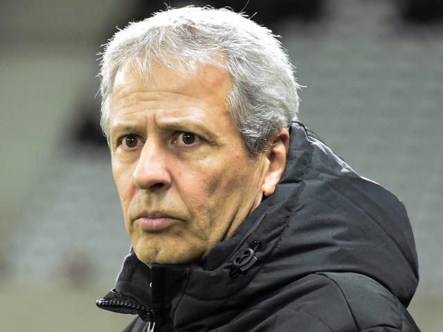 Lucien Favre offenbar vor Wechsel nach Dortmund.