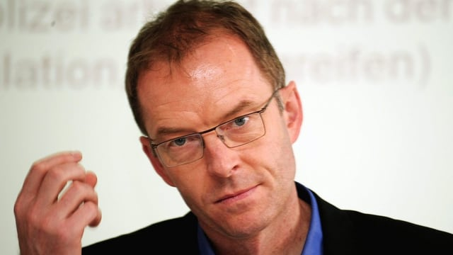 Portrait von Daniel Leupi, Zürcher Polizeivorstand