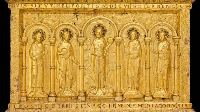 Altar-Tafeln des Basler Münsters.