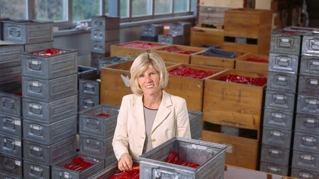 Produziert Werkzeug und ist neu auch Ehrendoktorin der Uni Bern: Eva Jaisli.
