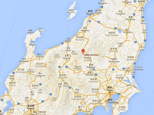 Japan-Karte.
