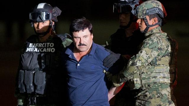Nach sechsmonatiger Flucht ging Joaquín «El Chapo» Guzmán Anfang Jahr der Polizei ins Netz.