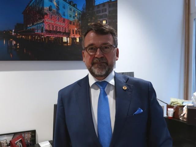 Jörg Arnold, Direktor des Hotels