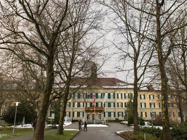 Der Zentralbau Waldau der Universitären Psychiatrischen Dienste Bern UPD