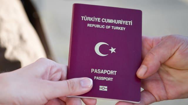 Türkischer Pass.