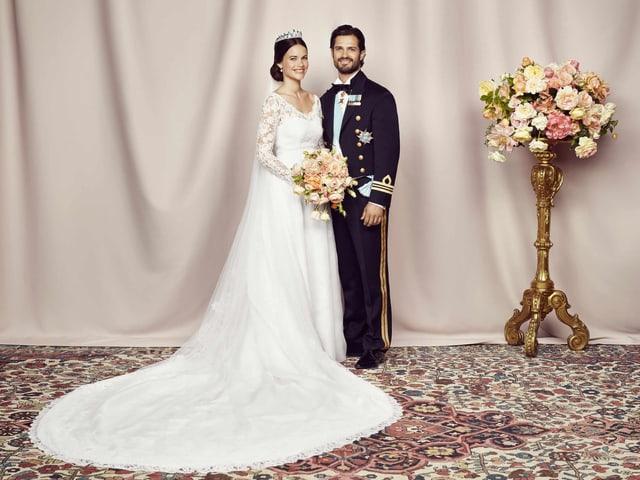 Prinz Carl Philip und Sofia Hellqvist,