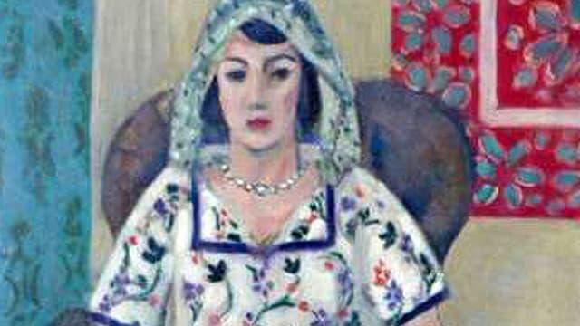 Die «Sitzende Frau» von Henri Matisse.