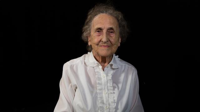 2017: Frau Hof mit 93 Jahren