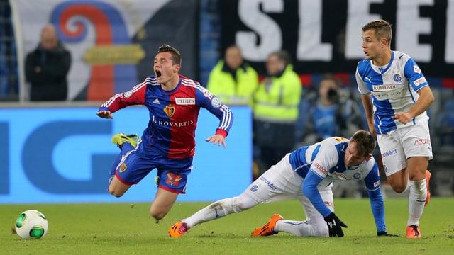 Kann sich Basel in der Rückrunde gegen die Konkurrenz behaupten?