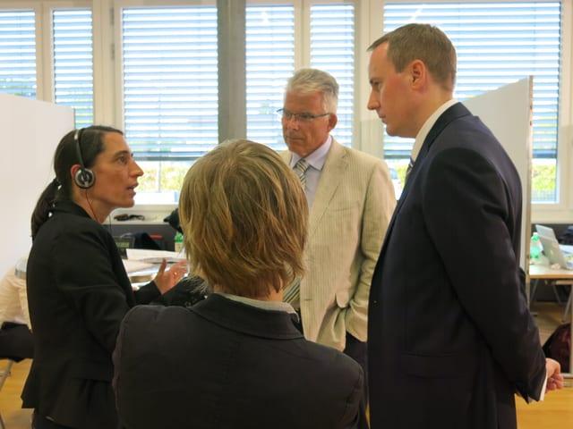 Parteien im Gespräch mit dem Regionaljournal Zentralschweiz.