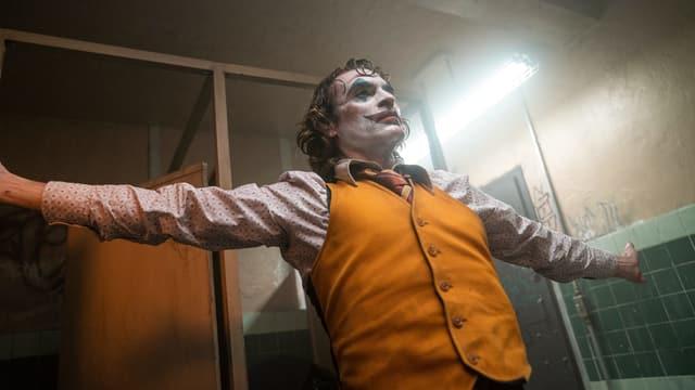 Joker in der Toilette