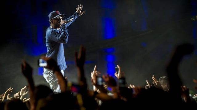 Kendrick Lamar am Openair Frauenfeld.