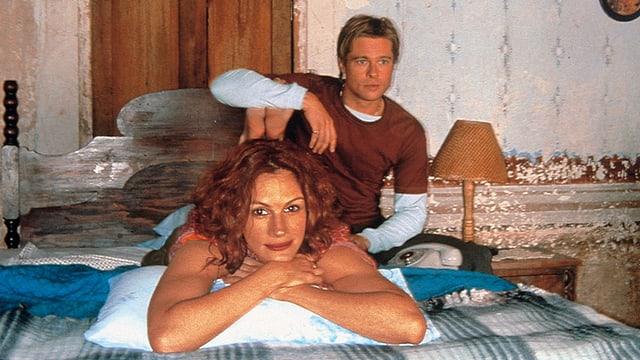 Julia Roberts als  Samantha Barzel, Brad Pitt als Jerry Welbach.