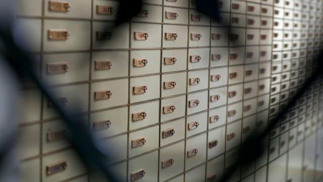caums en il tresor d'ina banca
