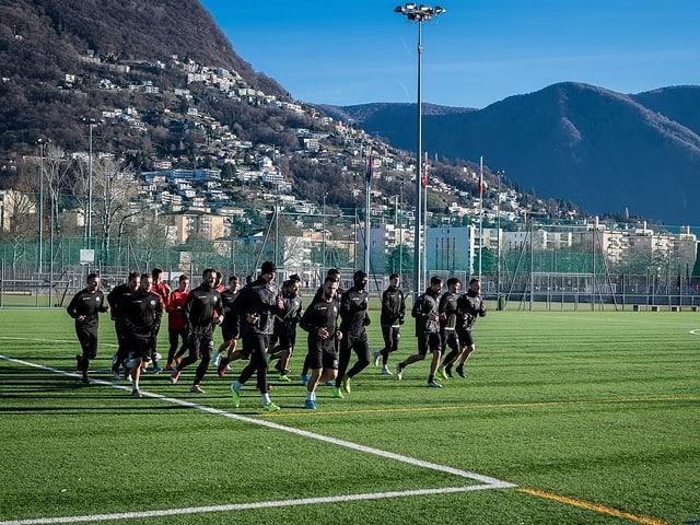 Ein Spieler des FC Lugano wurde positiv getestet.