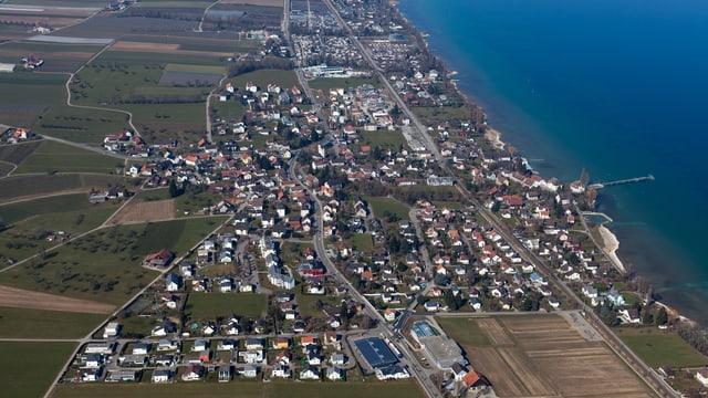 Gemeinde Uttwil aus der Luft