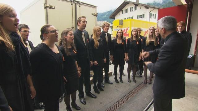 La passiun dals Grischuns: il chant.