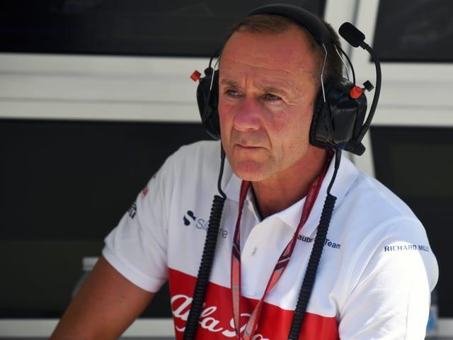 Jörg Zander mit Kopfhörer.