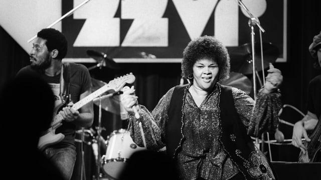 Etta James am Montreux Jazz Festival 1978