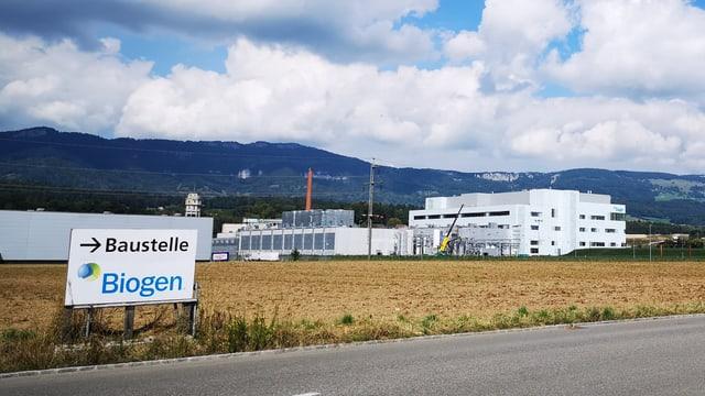 Eine Fabrik von aussen