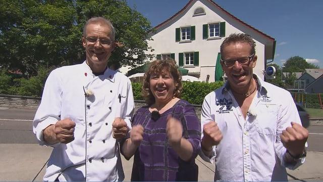 Video «Kanton Zürich – Tag 2 – Restaurant Frohsinn, Gockhausen» abspielen