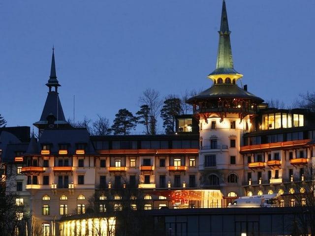 Das Hotel Dolder Grand in Zürich