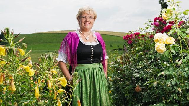 Video ««SRF bi de Lüt – Landfrauenküche» (4): Romana Zumbühl, Luzern» abspielen