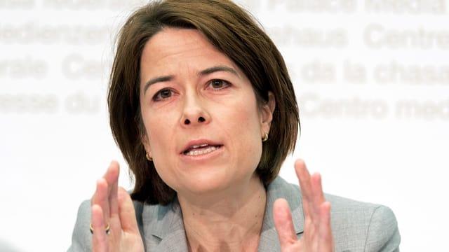 FDP-Chefin Petra Gössi