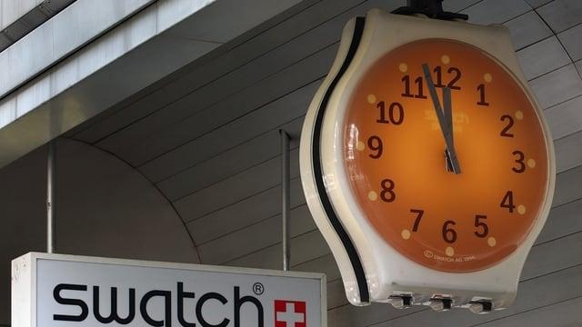 Il concern dad uras Swatch noda pli pauc gudogn il 2014